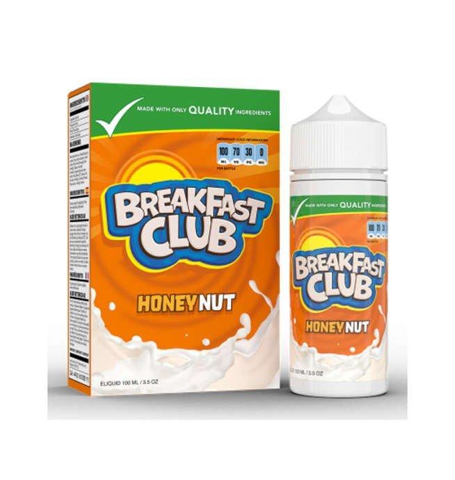 Breakfast Club Honey Nut E-Liquid 100ml