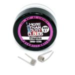 Clapton Ni80 0,7 Ohm TWOL prebuilt Coils für Selbstwickler und Verdampfer