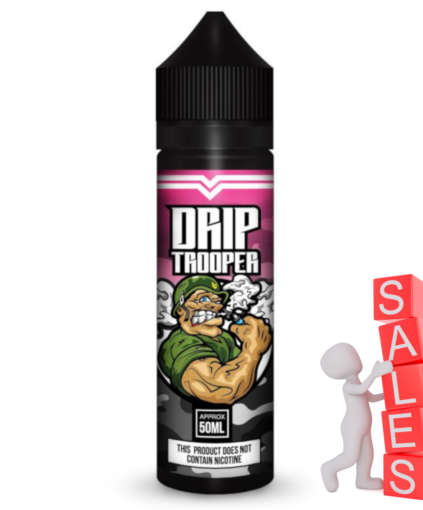 Drip Trooper Mix Raspberry 50ml Liquid und Shortfill