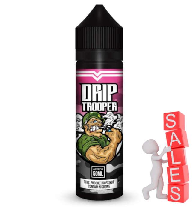 Drip Trooper Mix Raspberry 50ml Liquid und Shortfill