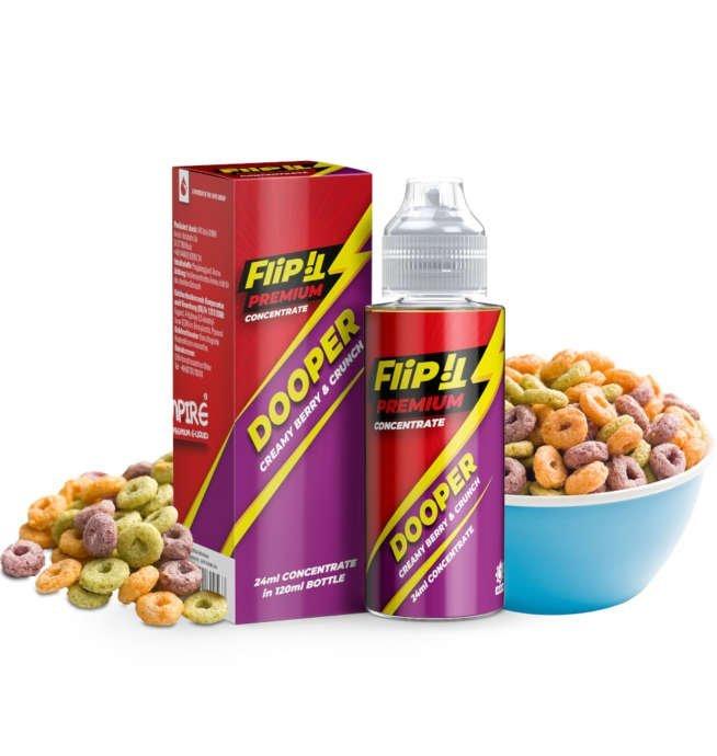 Flip It Dooper PJ Empire Flaschendunst 24ml Aroma Longfill Liquid und Shortfill