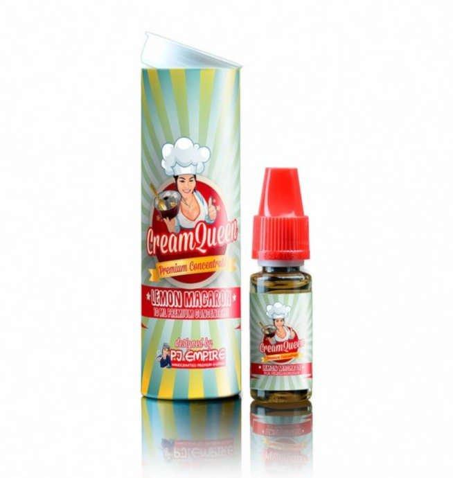 Aroma Longfill 10ml PJ Cream Queen Lemon Macaron