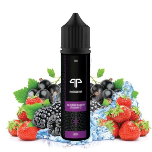 Aroma Longfill 15ml Professor Puff Blackcurrant Blackberry Strawberry Ice