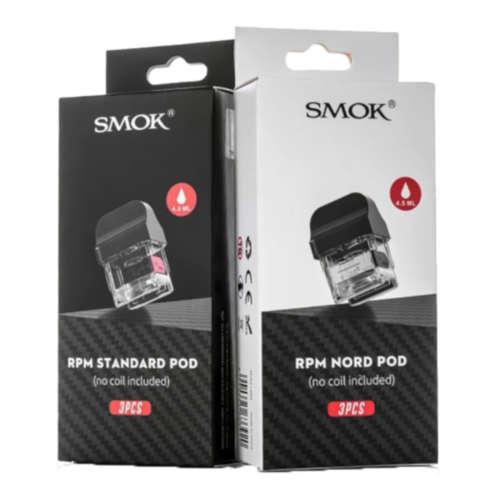 SMOK RPM Mesh MTL Leerpod Cartridge Ersatzpod Nachfüllbehälter