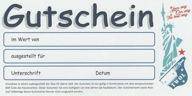 Twol Gutschein