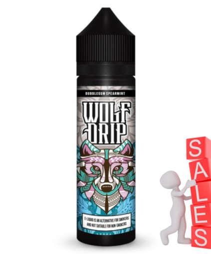 Wolf Drip Bubblegum Spearmint 50ml Liquid und Shortfill