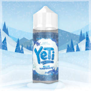 Yeti Blue Raspberry 100ml Liquid und Shortfill