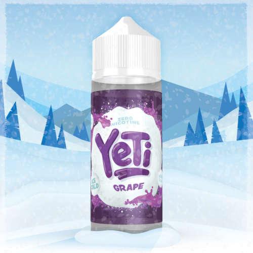 Yeti Grape 100ml Liquid und Shortfill
