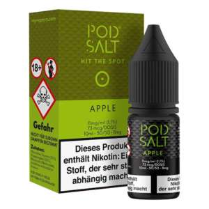 Apple Pod Salt Nikotinsalz 11mg/ml Liquid Saltnic und Shortfill