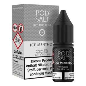 Ice Menthol Pod Salt Nikotinsalz 11mg/ml Liquid Saltnic und Shortfill