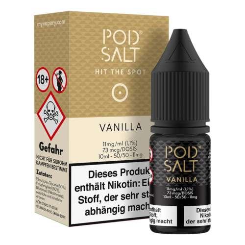 Vanilla Pod Salt Nikotinsalz 11mg/ml Liquid Saltnic und Shortfill