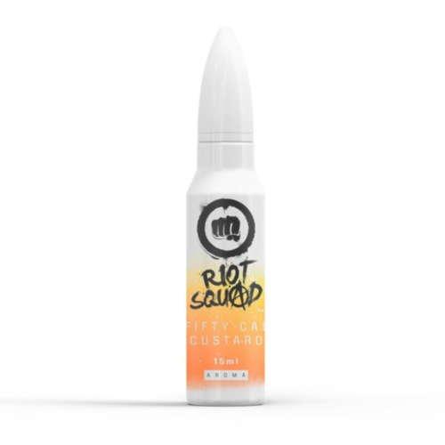 Riot Squad Fifty Cal Custard Aroma Longfill Liquid und Shortfill