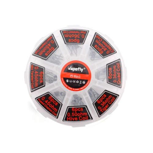 vapefly 8in1 TWOL prebuilt Coils für Selbstwickler und Verdampfer