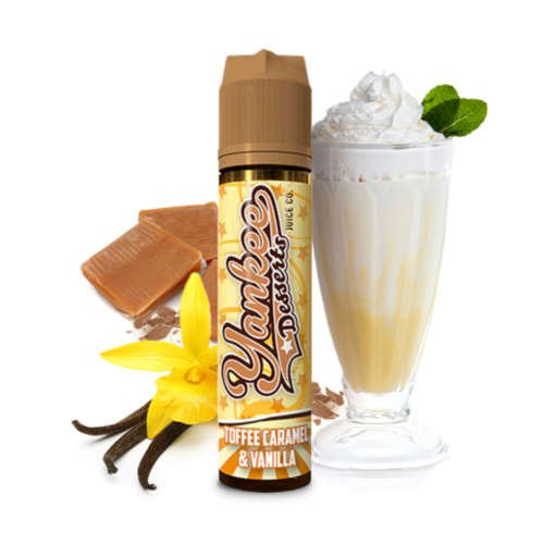 Yankee Toffee Caramel & Vanilla Aroma und Longfill