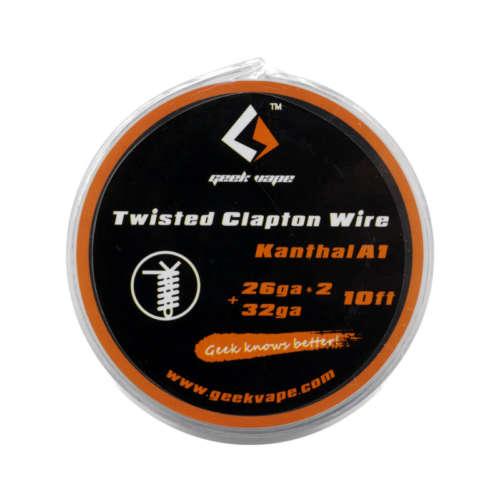 GeekVape KA1 Twisted Clapton Wire Drahtrollen Coils für Selbstwickler und Verdampfer