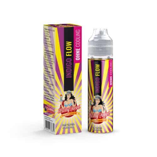 PJ Empire Slushy Queen Indigo Flow Aroma Longfill Liquid und Shortfill