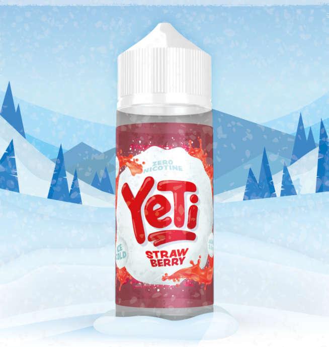 Yeti Strawberry 100ml Liquid und Shortfill