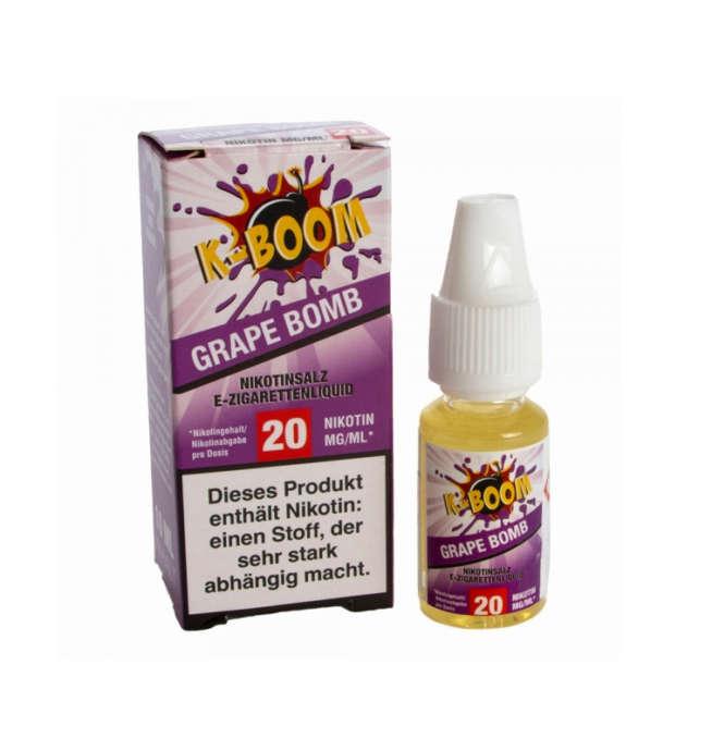 K-Boom Grape Bomb Nikotinsalz Liquid 10ml 20mg/ml bei TWOL in Kaiserslautern