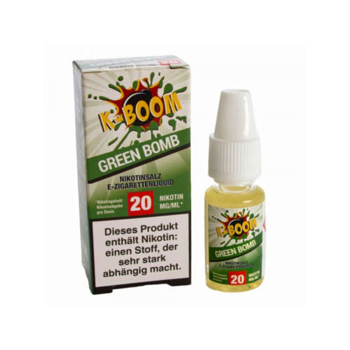 K-Boom Green Bomb Nikotinsalz Liquid 10ml 20mg/ml bei TWOL in Kaiserslautern
